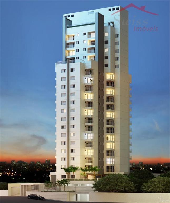 Apartamento /projeto sofisticado e com conceitos de um Flat,  1 dormitório - 1 vaga - piscina