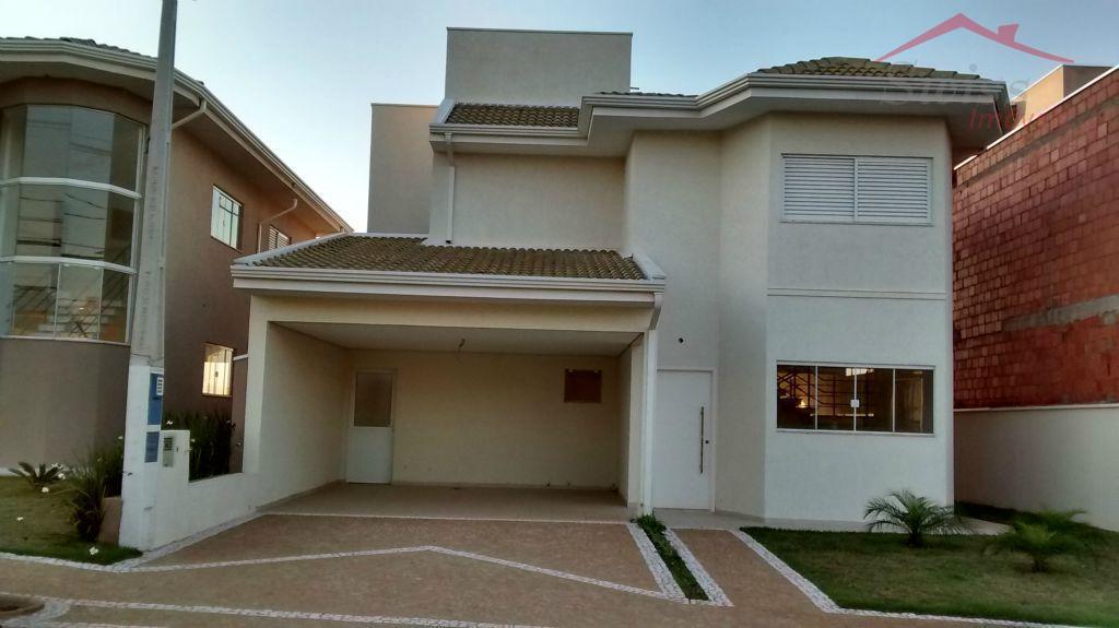 Sobrado 280 m² - 3 suítes, master com closet, living 2 ambientes, piscina com SPA