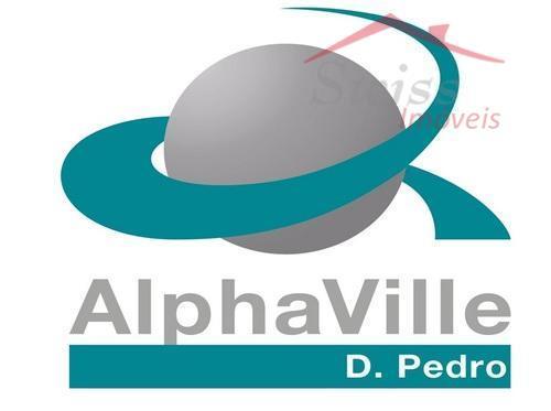 Alphaville Dom Pedro - 585 M² - Fase III - oportunidade