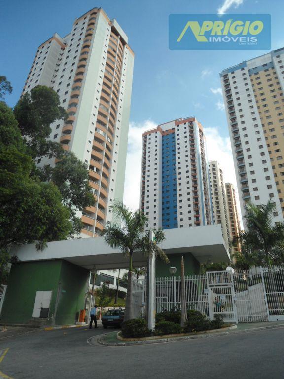 Apartamento residencial para locação, Chácara Agrindus, Taboão da Serra.