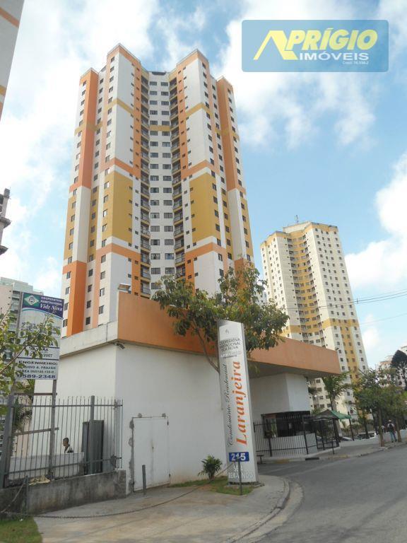 Apartamento residencial para locação, Jardim Maria Rosa, Taboão da Serra.