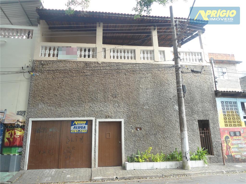 Sobrado residencial para locação, Jardim Santa Cecília, Taboão da Serra.