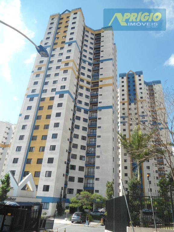 Apartamento residencial para venda e locação, Jardim Helena, Taboão da Serra - AP0085.