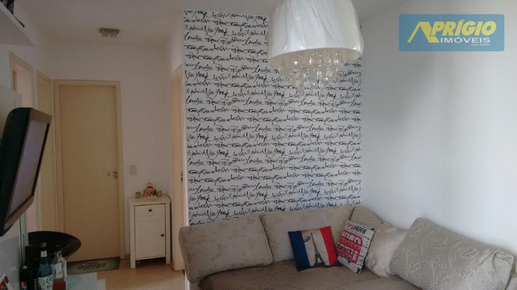 Apartamento residencial à venda, Vila Indiana, Taboão da Serra.