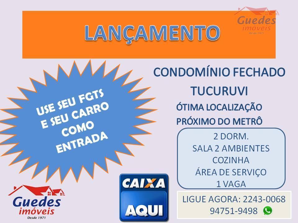 ** COND. FECHADO - TUCURUVI - C/VAGA COBERTA**