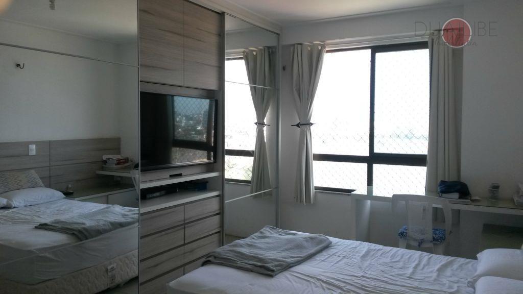 apartamento à venda no cond. lakeside, com 01 suíte, 01 quarto, sala, varanda integrada, wc social,...