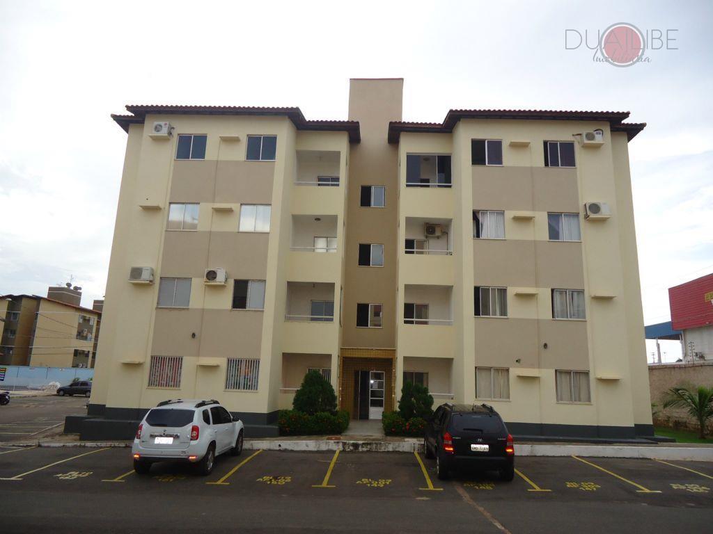 Apartamento com 2 dormitórios para alugar, 57 m² - Recanto dos Vinhais - São Luís/MA