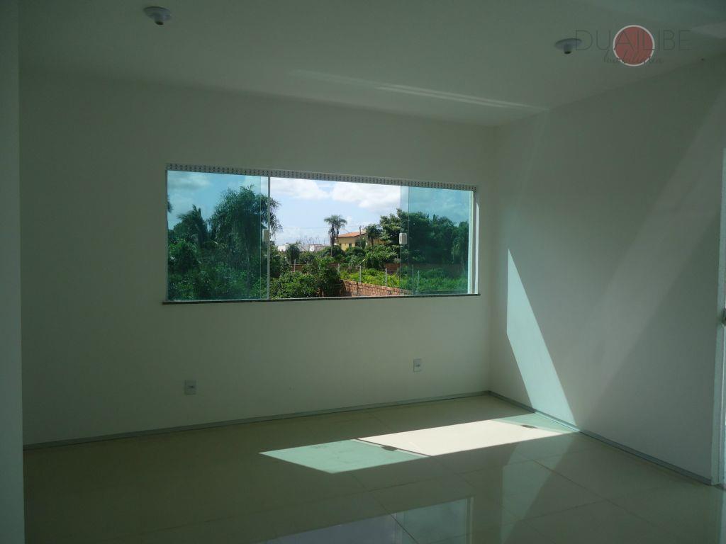 linda casa nova duplex no araçagy, com terraço, quintal, escritório, sala em 02 ambientes, lavabo, 01...
