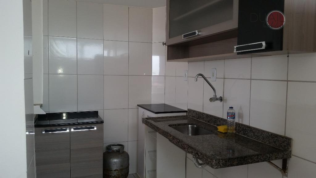 apartamento no ed. raphael com 42, 32m², com 01 quarto, 01 wc, 01 sala, cozinha, área...