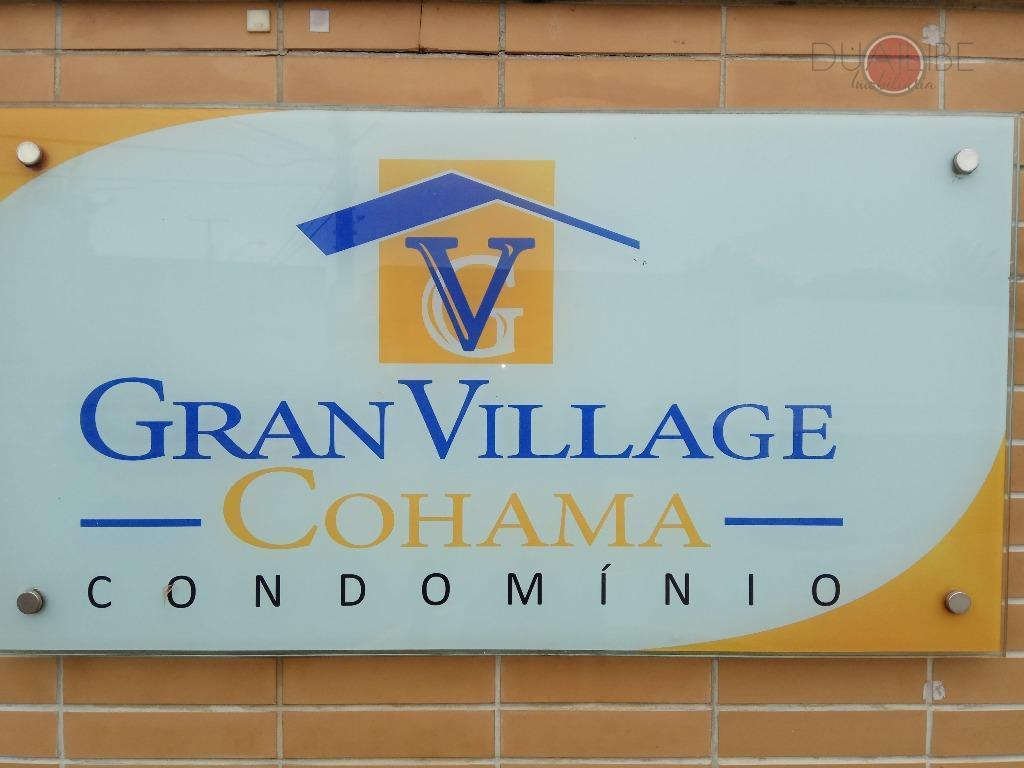 casa no cond. gran village cohama, com 03 quartos, sendo 01 suíte, 01 semisuite e 01...