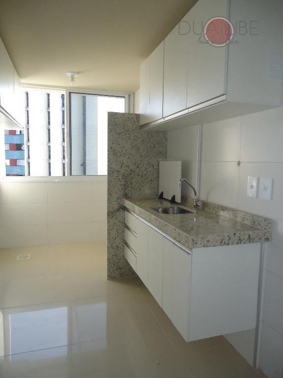apartamento de 76 m² com vista para o mar, com 2 suítes, sala (estar e jantar),...