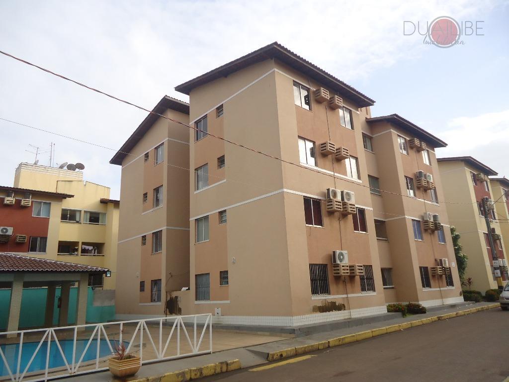 Apartamento com 2 dormitórios à venda, 51 m² por R$ 140.000,00 - Turu - São Luís/MA