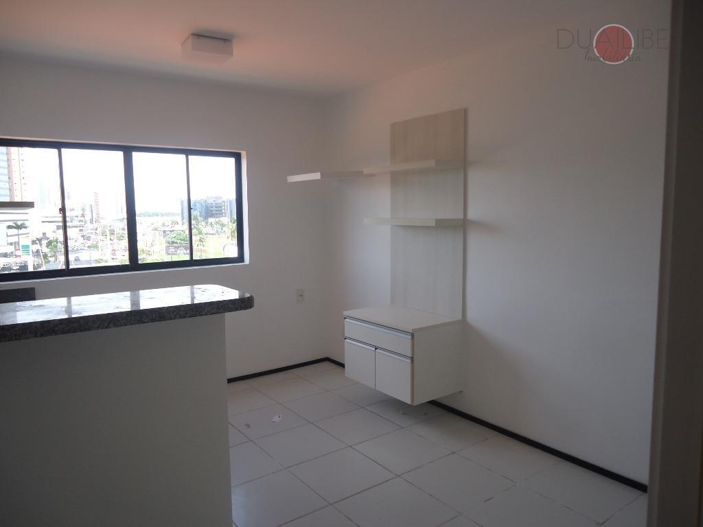 Flat com 1 dormitório para alugar, 32 m² por R$ 1.100/mês - Renascença - São Luís/MA