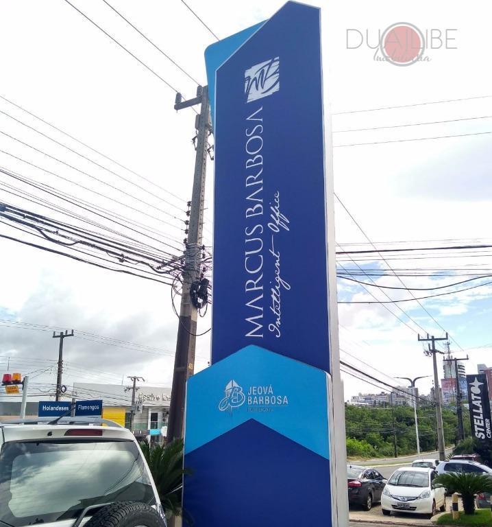 Sala comercial Marcus Barbosa Intelligent Office para locação, Calhau, São Luís.