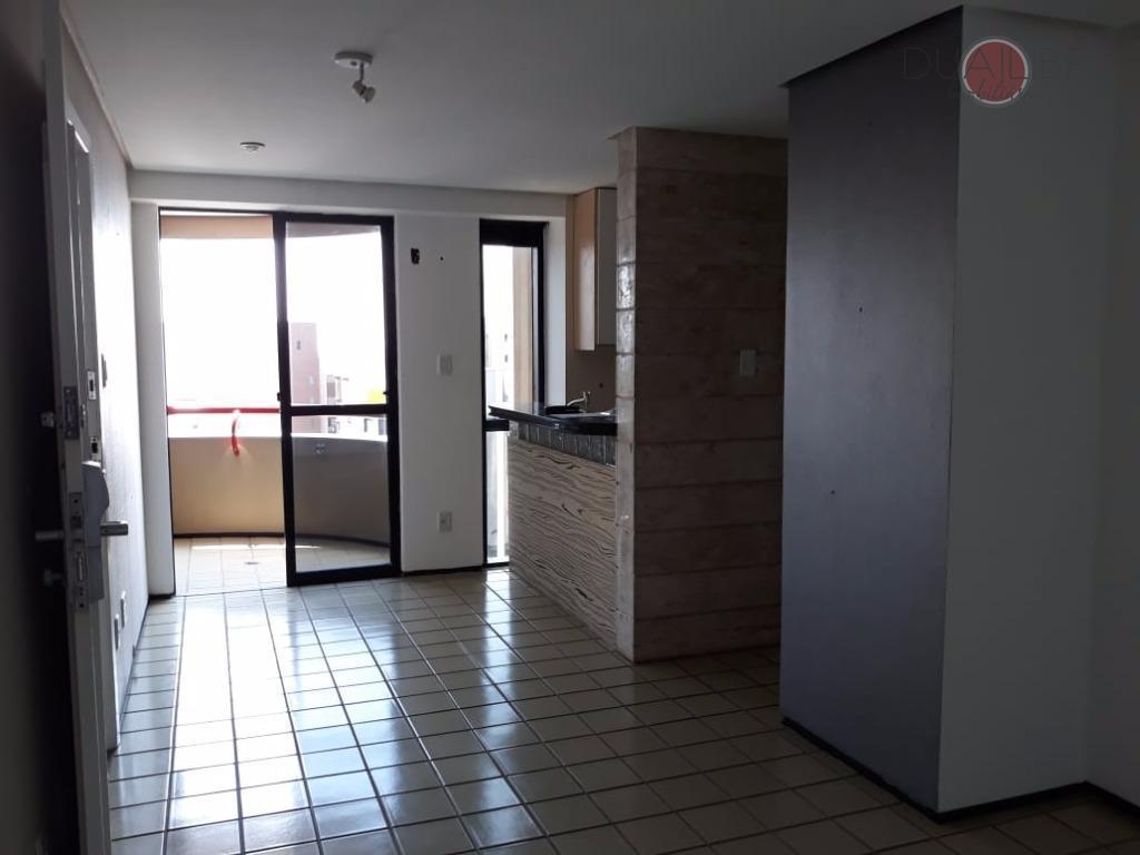 Flat residencial à venda, Ponta da areia, São Luís.