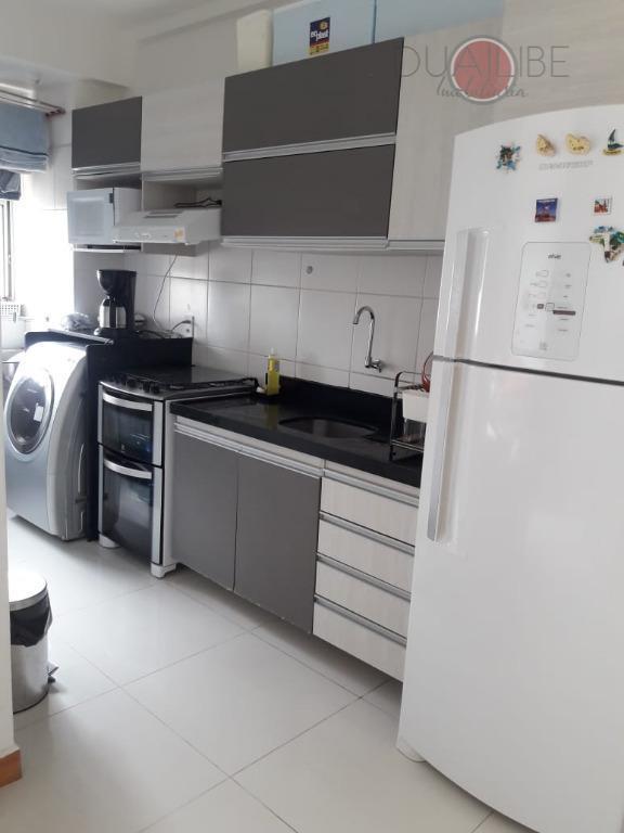 Apartamento Brisas Alto do Calhau com 2 dormitórios à venda, 54 m² por R$ 245.000 - Quitandinha - São Luís/MA