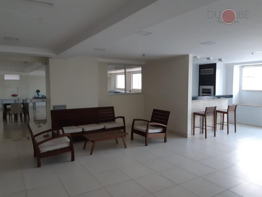 Condominio Taroa Residence com 3 dormitórios para alugar, 60 m² por R$ 3.000/mês