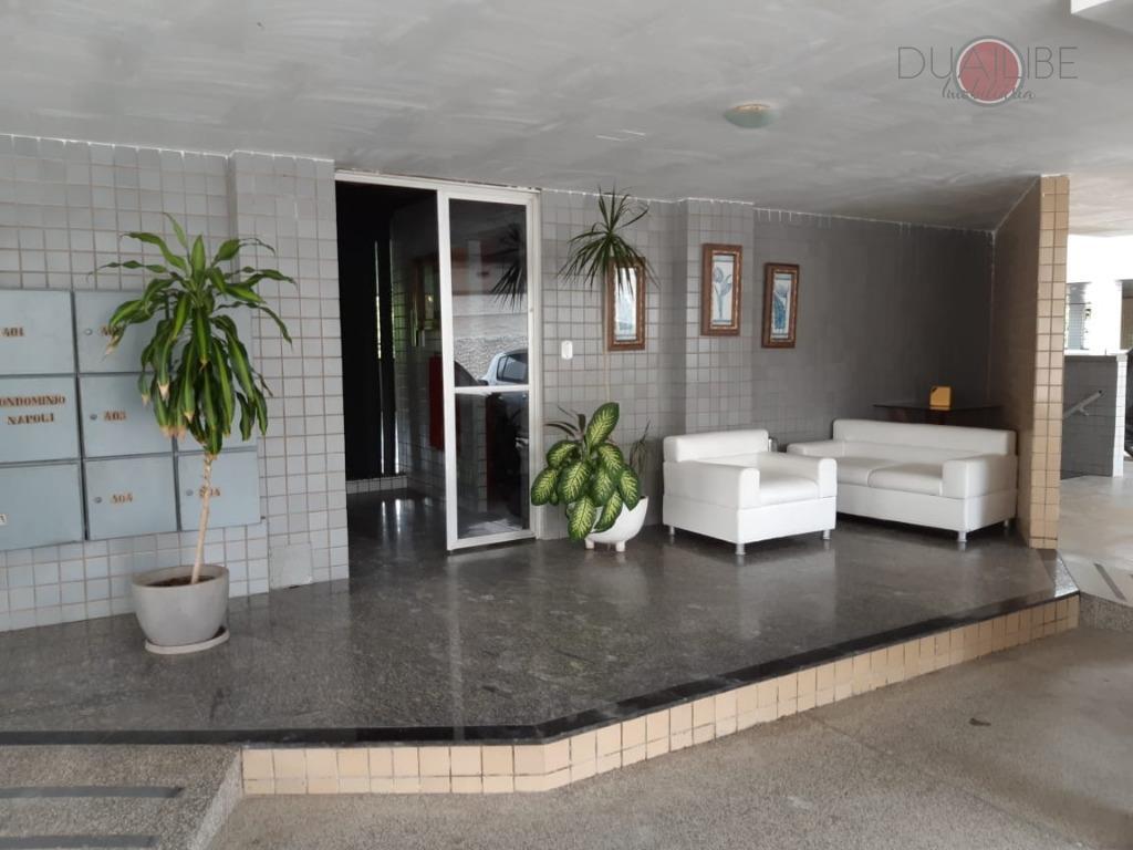 Apartamento à Venda no Ed Napoli com 3 dormitórios, 80 m² por R$ 230.000 - Jardim São Francisco - São Luís/MA