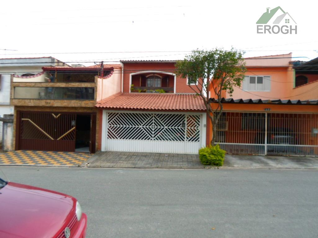 Casa residencial à venda, Parque Marajoara, Santo André.