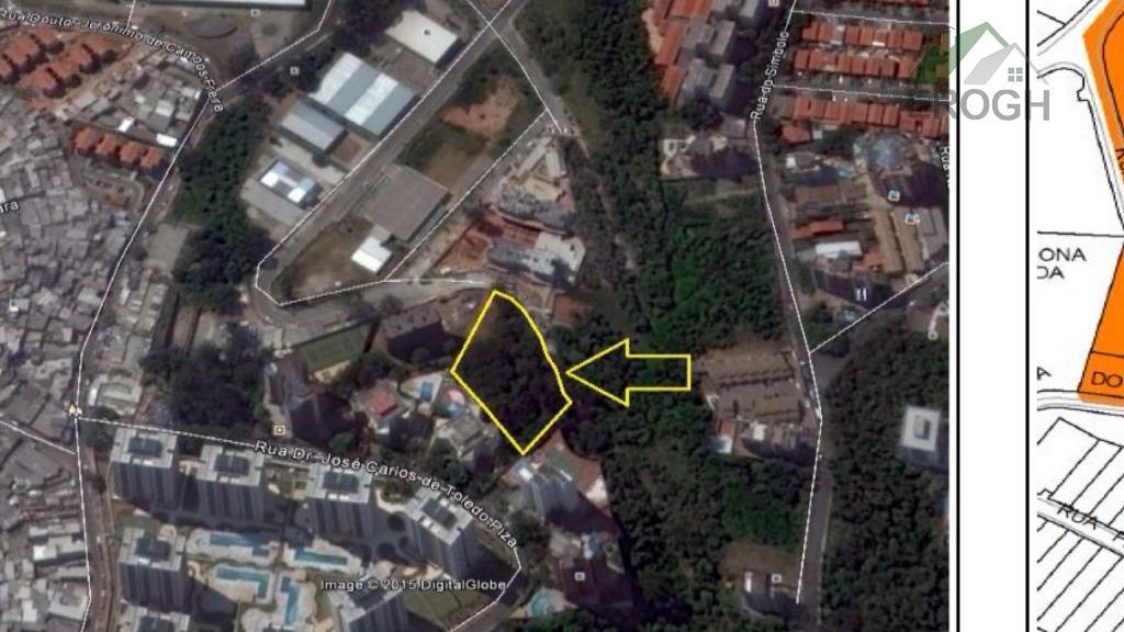 Terreno residencial à venda, Jardim Parque Morumbi, São Paulo.