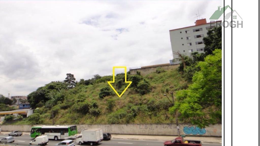 terreno com vocação para incorporação imobiliária ou sede de empresa. frente (promocional) para a rodovia anhanguera,...