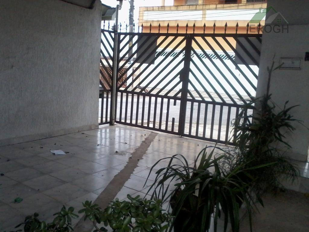 Casa residencial à venda, Parque Industriário, Santo André.