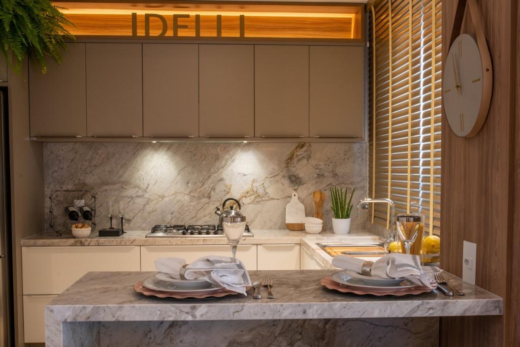 Cozinha - Apartamento Modelo