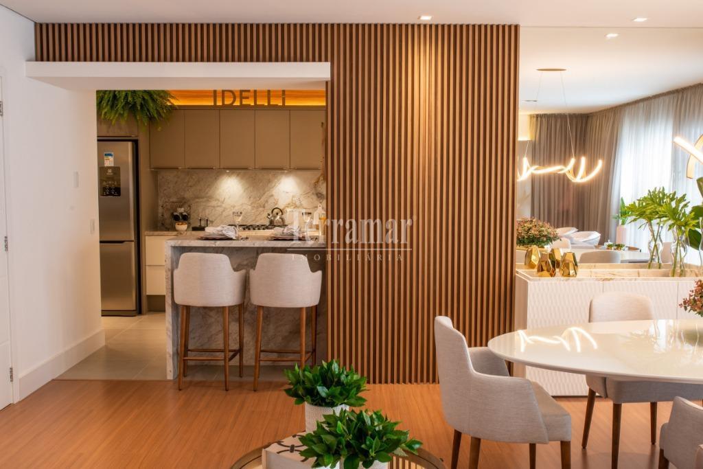 Sala e Cozinha - Apartamento Modelo