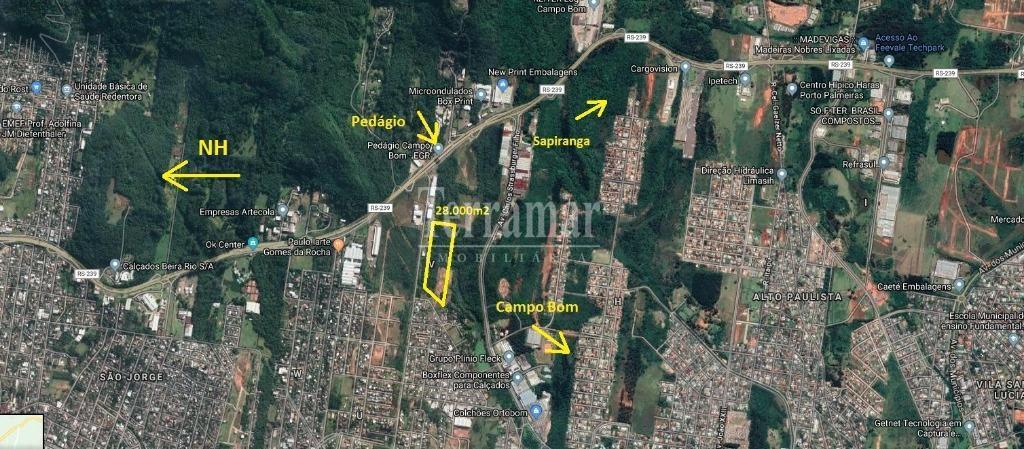 Área à venda, 28000 m² por R$ 3.250.000 - Zona Industrial - Campo Bom/RS