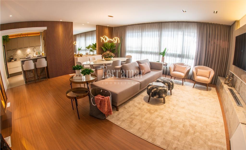 Apartamento decorado e mobiliado com 3 dormitórios à venda, 157 m² por R$ 1.579.112 - Centro - Novo Hamburgo/RS