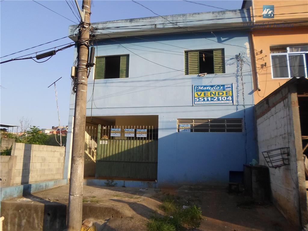Casa residencial à venda, Jardim Jacira - Itapecerica da Serra/SP, 3 casas no terreno excelente para renda