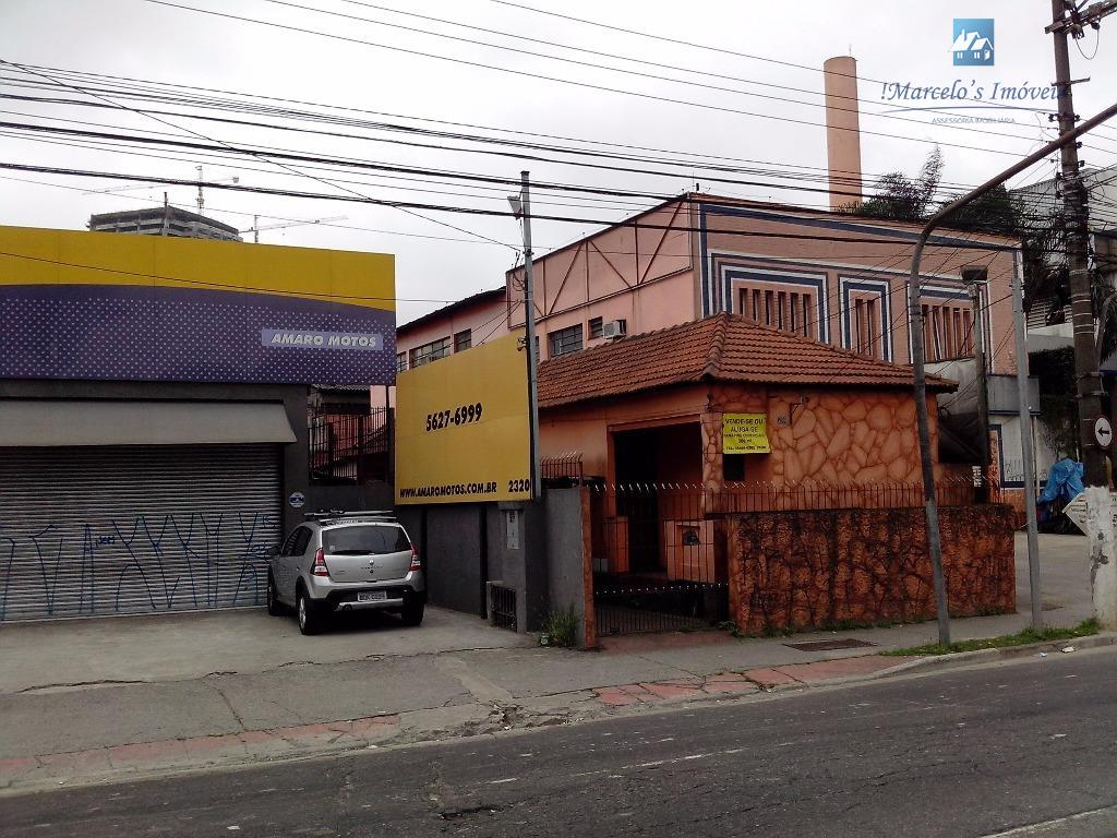 Terreno comercial à venda, Santo Amaro, São Paulo.