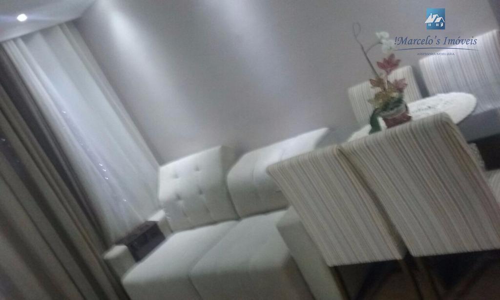 Apartamento residencial à venda, Canhema, Diadema.