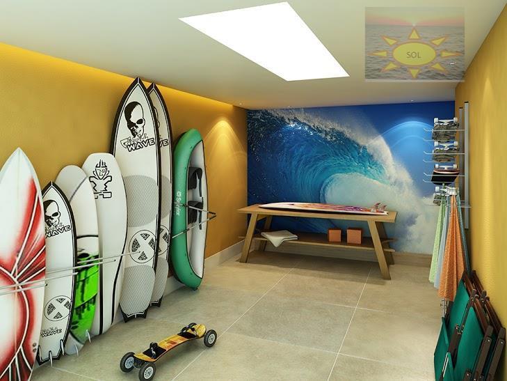 Parador Residence 4 quartos com 4 suítes e 4 vagas de Frente para o Mar