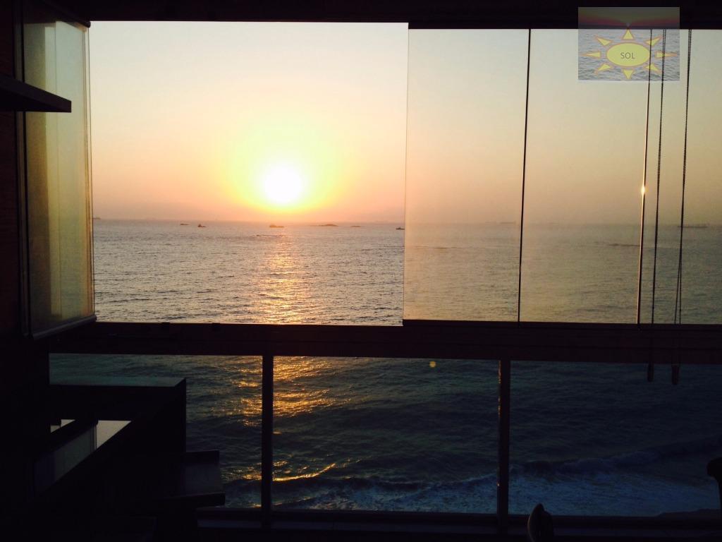 Porteira fechada Lindo 02 quartos de frente para o Mar