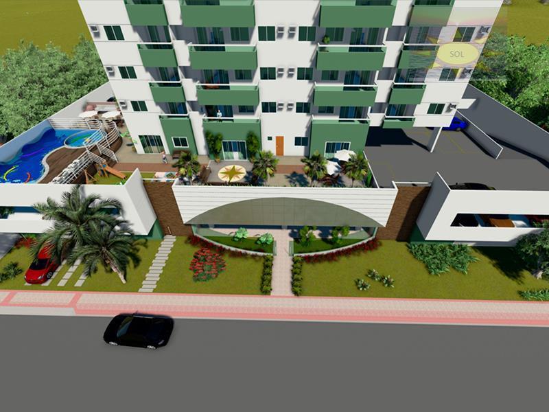 Apartamento 02 Quartos, Prédio Novo, com Lazer Completo