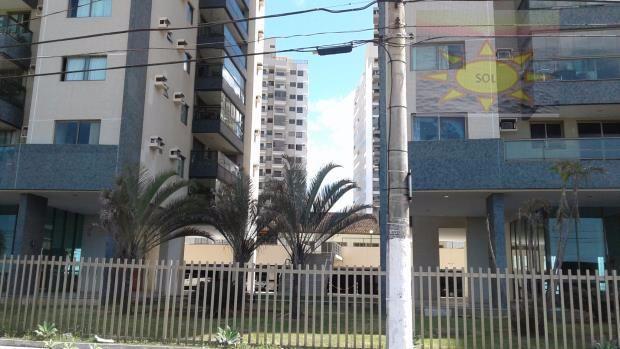 Frente Mar, Apartamento 03 Qtos 01 Suíte, Praia de Itaparica, Vila Velha.