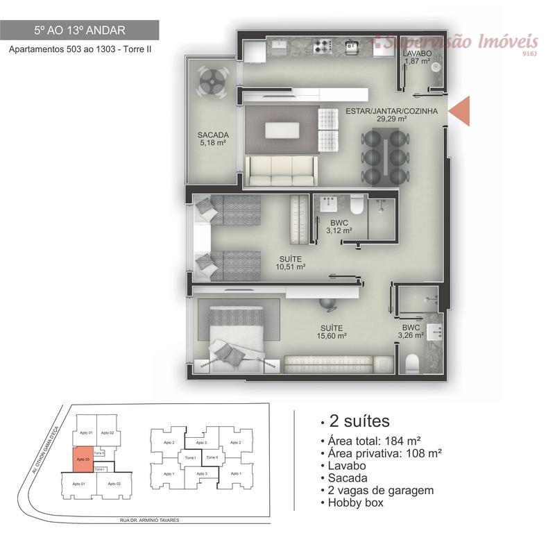 2 suites torre 2