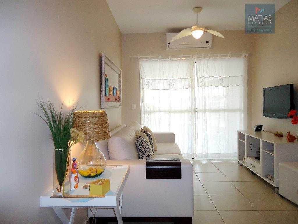 Apartamento  residencial para venda e locação, Riviera - Módulo 2, Bertioga.