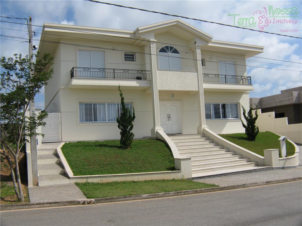 Sobrado Residencial à venda, Condomínio Jardim Paulista II, Vinhedo - SO0090.