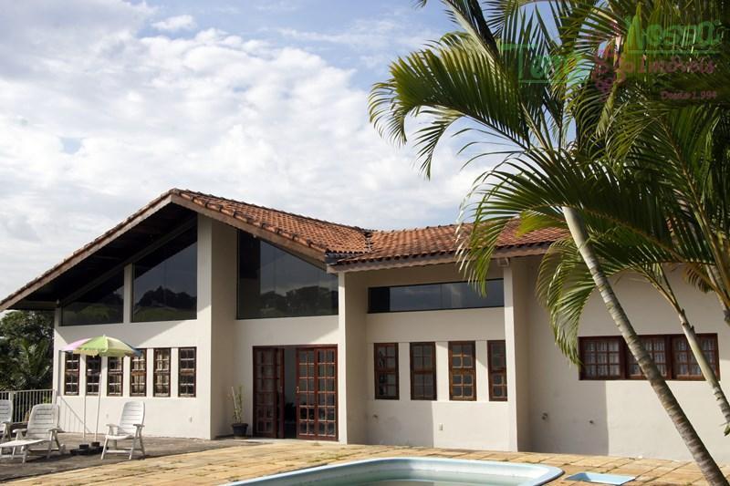 Casa  residencial para locação, Chácaras do Lago, Vinhedo.