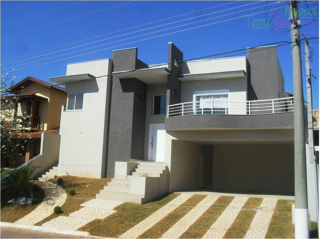 Casa residencial à venda, Condomínio Villagio Capriccio, Louveira - CA0414.
