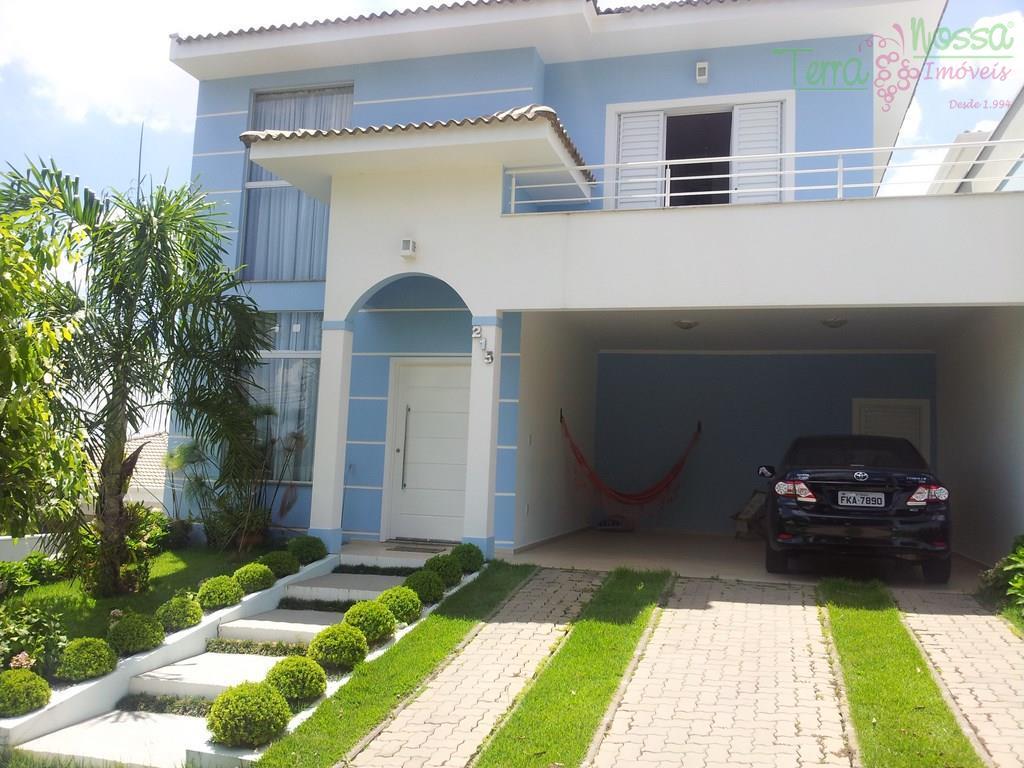 Casa residencial à venda, Condomínio Reserva da Mata, Vinhedo - CA0471.