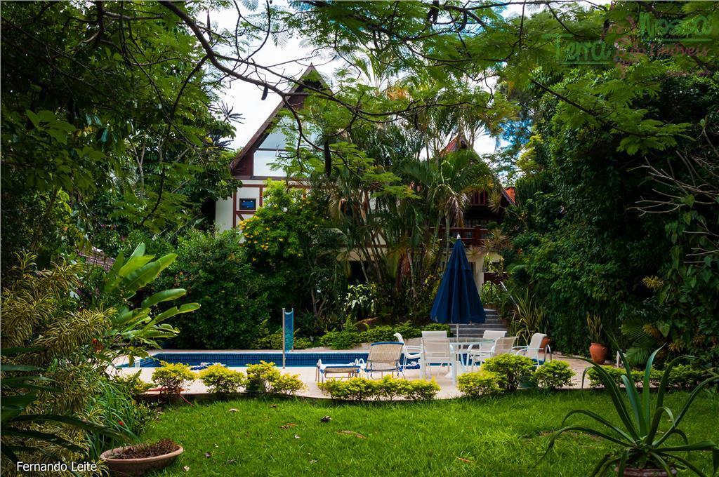 Sobrado residencial à venda, Condomínio Estância Marambaia, Vinhedo.
