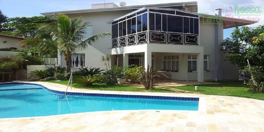Casa residencial à venda, Condomínio Vista Alegre - Sede, Vinhedo - CA0437.