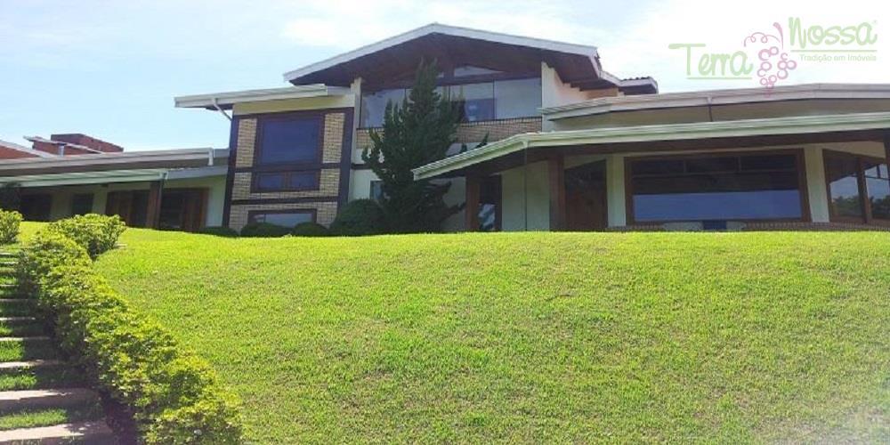 Casa residencial à venda, Condomínio Santa Fé, Vinhedo - CA0430.