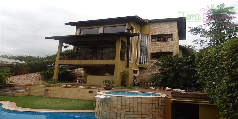 Casa residencial à venda, Condomínio Santa Tereza, Itupeva - CA0362.