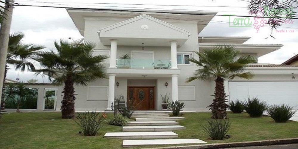 Casa residencial à venda, Condomínio Marambaia, Vinhedo - CA0499.
