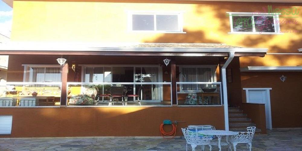 Casa residencial à venda, Condomínio Villagio di Verona, Vinhedo - CA0417.
