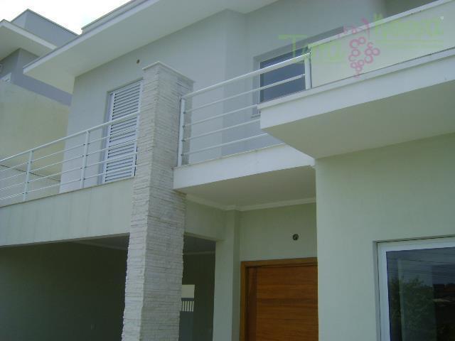 Casa residencial à venda, Condomínio Reserva da Mata, Vinhedo - CA0378.